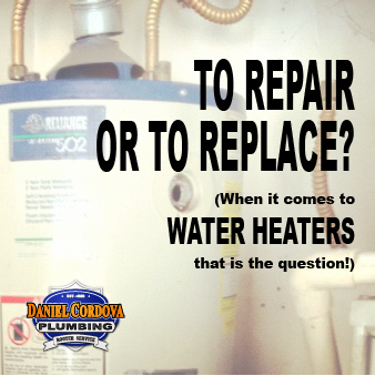 To Repair Or To Replace A Water Heater