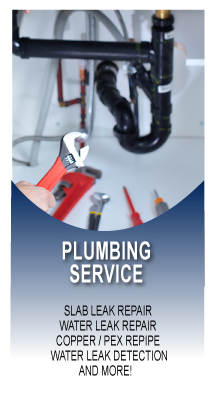 Plumbing, Electronic Leak Detection, Copper Repiping, Water Heater Repair, Water Heater Installation