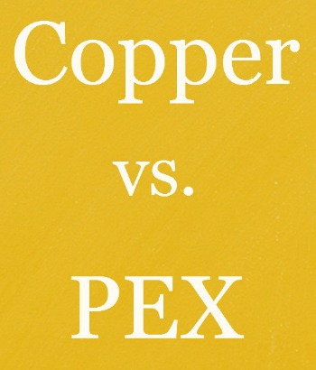 When it comes to repiping a home which material is better for Pex pipe vs copper pipe